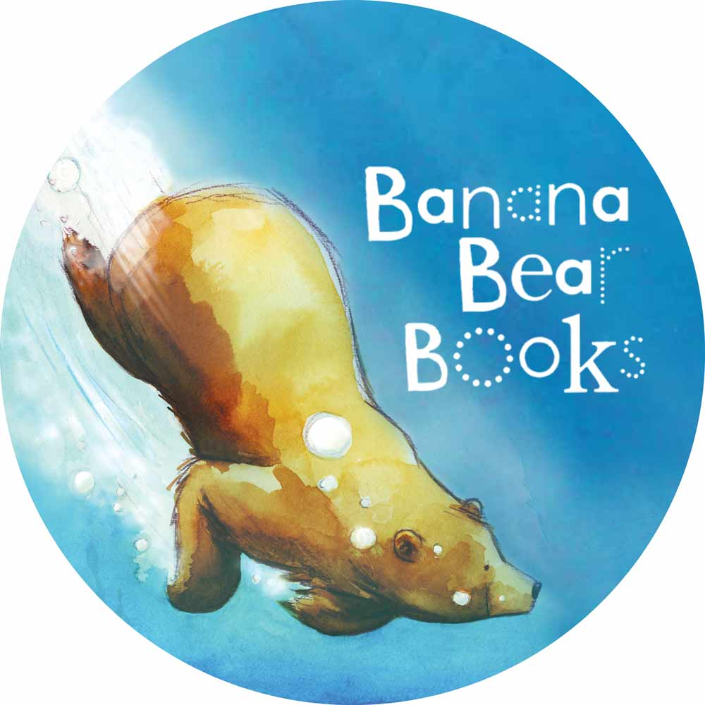 Banana Bear Books - children focused graphic design, art direction, illustration and book packaging services.