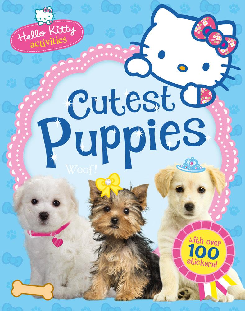 Hello Kitty Cutest Puppies Banana Bear Books And