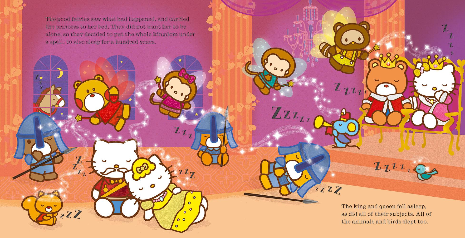 Hello Kitty is... Sleeping Beauty - Banana Bear Books and ...