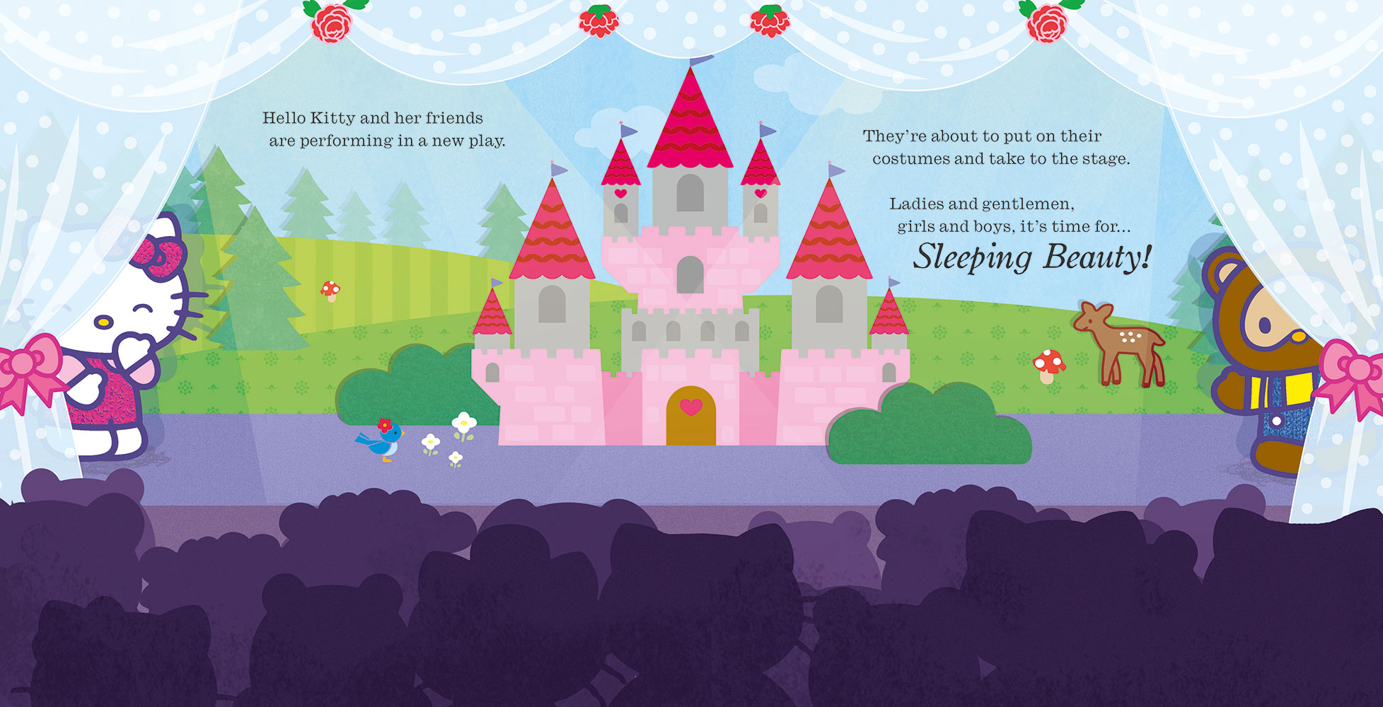Hello Kitty Is Sleeping Beauty Banana Bear Books And