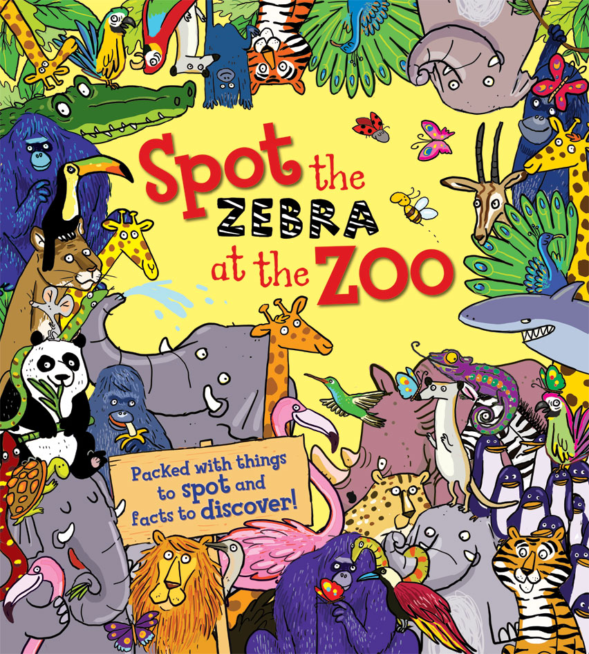 Spot The Zebra At The Zoo Banana Bear Books And Illustration