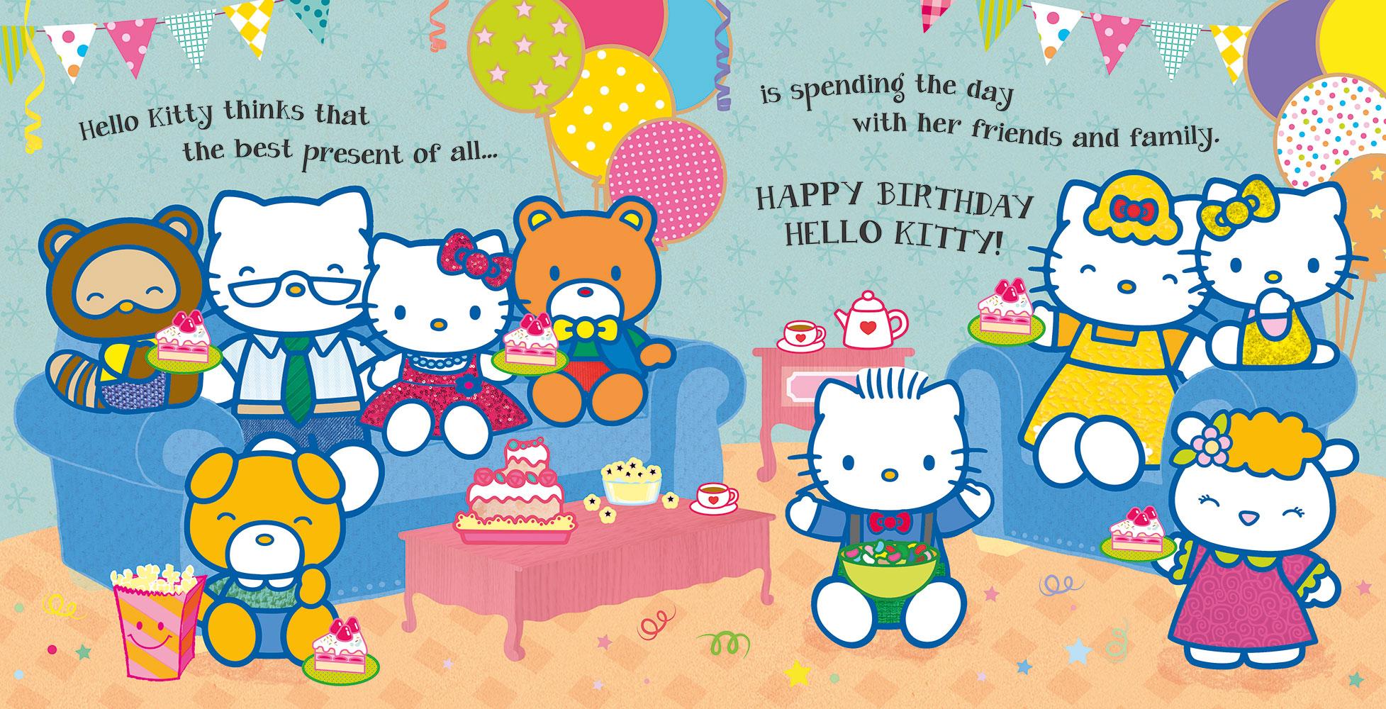 Hello Kitty Happy Birthday Banana Bear Books And