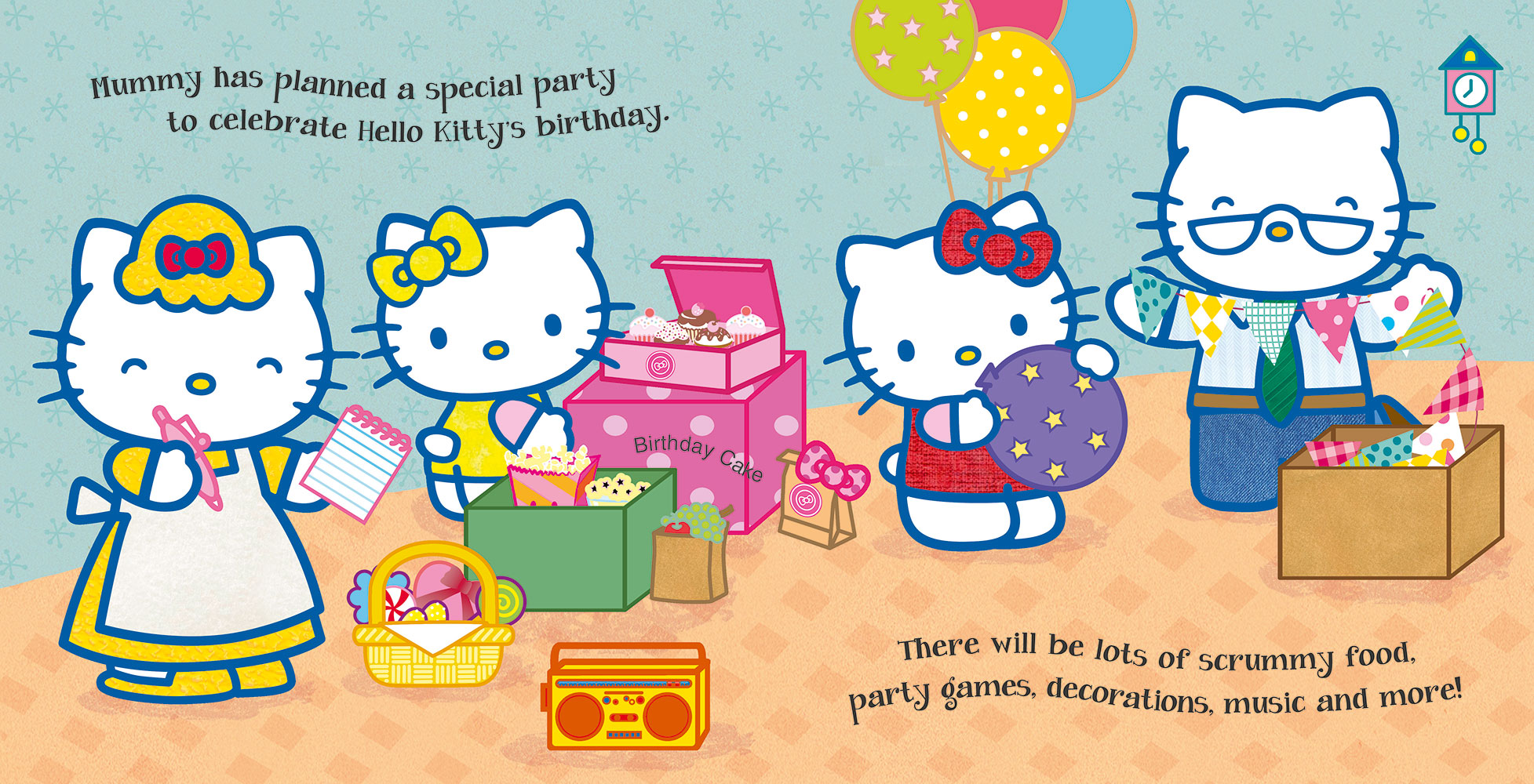 Hello Kitty Happy Birthday Banana Bear Books And