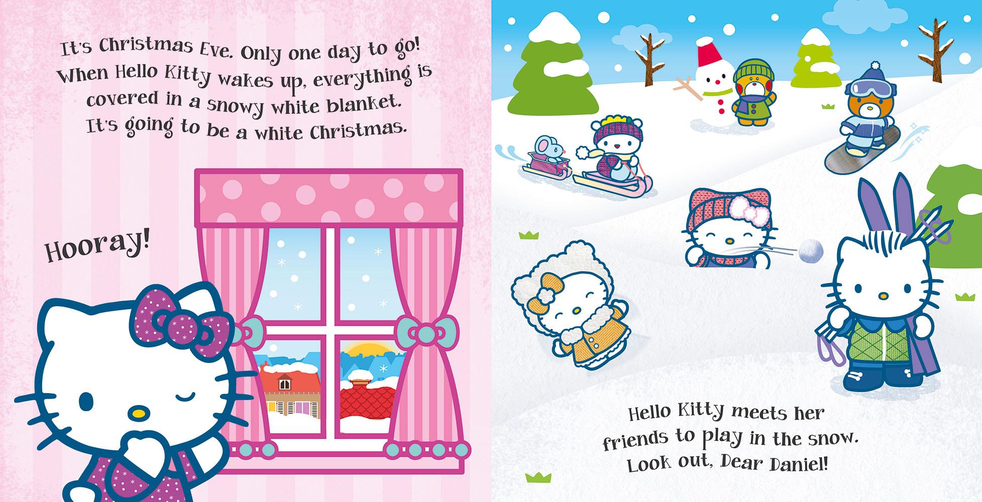 Hello Kitty Christmas Tree.Hello Kitty Happy Christmas Banana Bear Books And