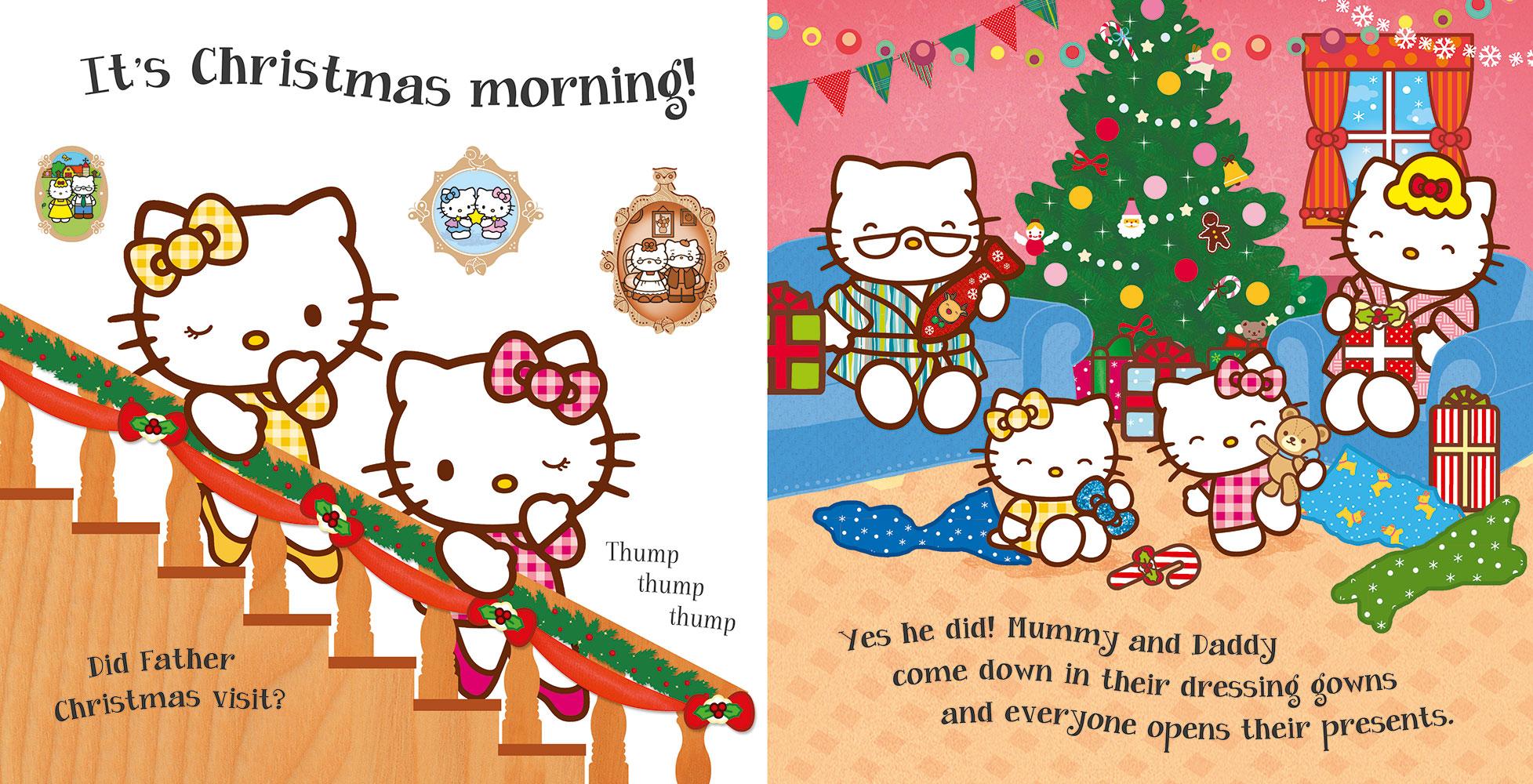 Hello Kitty Merry Christmas.Hello Kitty Happy Christmas Banana Bear Books And